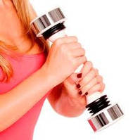 Тренажер для женщин (виброгантеля) Shake Weight Women (Шейк Уэйт Вейт) с DVD-диском