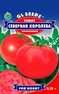 Насіння томат Північна королева ультраранній висотою 50-70 см