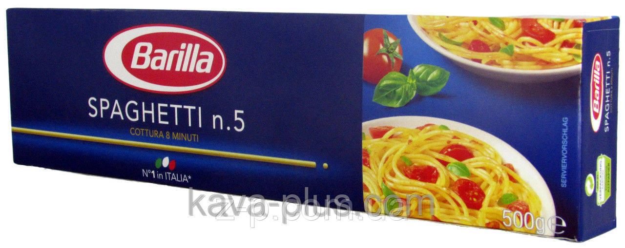 "Макароны Barilla ""Спагетті"" №5 500г. (Италія)"
