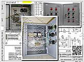Я5125, РУСМ5125, Я5127, РУСМ5127  нереверсивный двухфидерный  ящик управления  электродвигателями, фото 2
