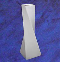 """Ваза """"Эквилибриум"""" большая керамическая белая для декорирования h395мм"""