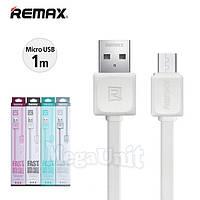 Remax RC-008 USB кабель 1м micro USB для Samsung Lenovo Nokia