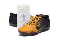 Баскетбольные кроссовки Nike Kobe 11 yellow-black