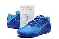 Баскетбольные кроссовки Nike Kobe 11 синие
