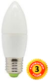 Лед лампа LEDSTAR,  6W, E27,220V, 4000К (LC618)