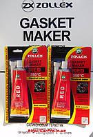 Герметик прокладок красный высокотемпературный без запаха Zollex Red 85гр