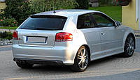 Накладка на задний бампер для Audi A3(8Р)