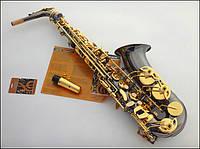 Саксофон Mercuri сопрано чёрный лак