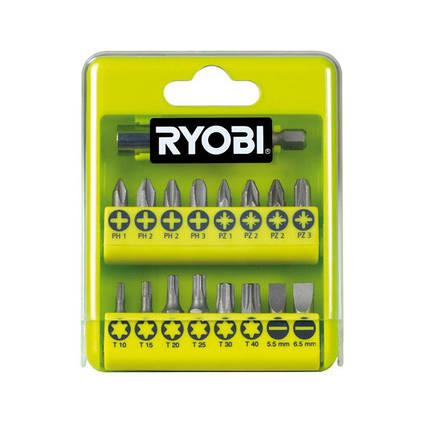 Набор бит для шуруповерта RYOBI RAK17SD (17 шт.) , фото 2