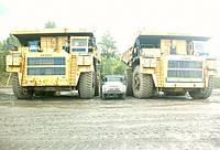 Зил 130 и Белаз