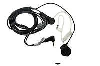 Гарнитура Agent A-026M6 без VOX с кнопкой на палец и длинным кабелем Для переговорных устройств TLKR (Гр2473)
