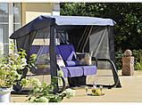 Гойдалка садова Dajar Venezia з москітною сіткою 4-х місна, фото 2