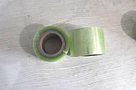 Скотч упаковочный 90мм зелёный прозрачный М5-4