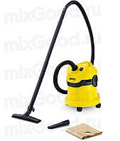 Пылесос для сухой и влажной уборки Керхер WD 2