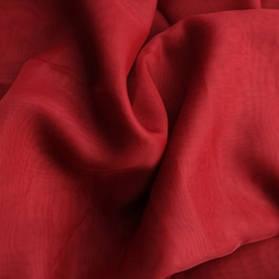 Шторный шифон Бордовый (вуаль)