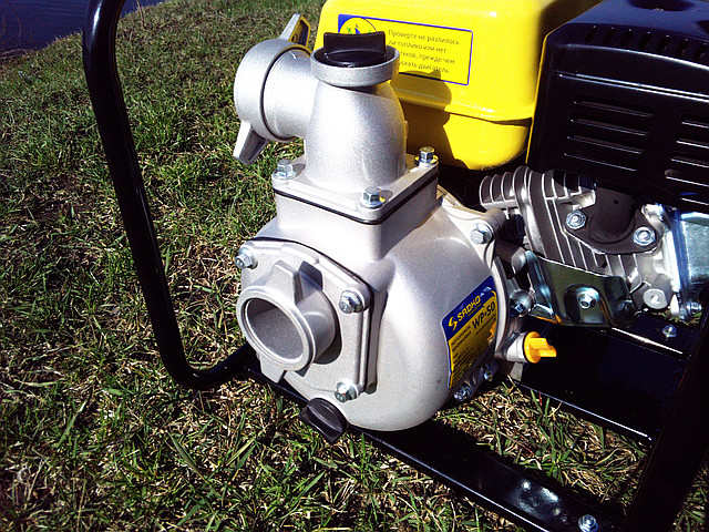 Бензиновый насос для воды Sadko Wp-50