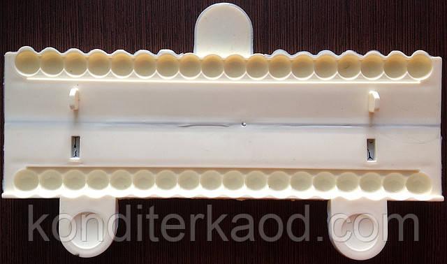 Молд для бусин (пластиковый) диаметр 9 мм