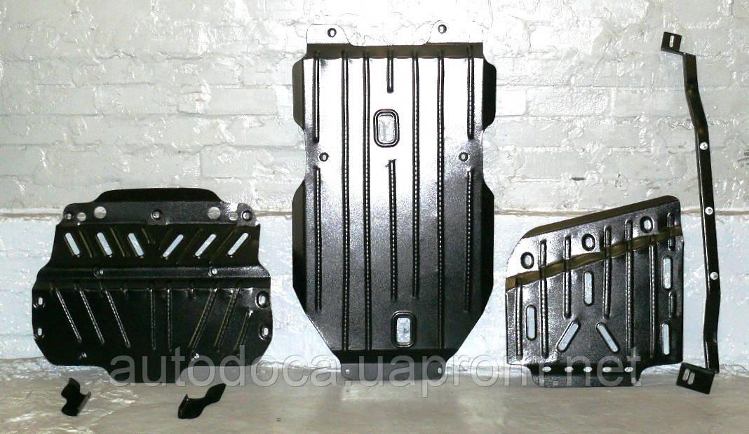 Защита радиатора, двигателя и кпп, ркпп Toyota Land Cruiser Prado 150  2009-