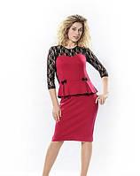 Женское платье нарядное Виктория размеры 44, 46, 48,  50
