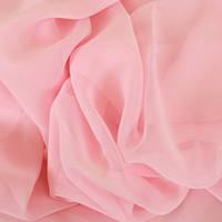 Вуаль Розовая - нежнно-розовый (шторный шифон)