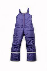 Зимние штаны детский полукомбинезон