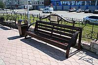 Парковая скамейка модель 382