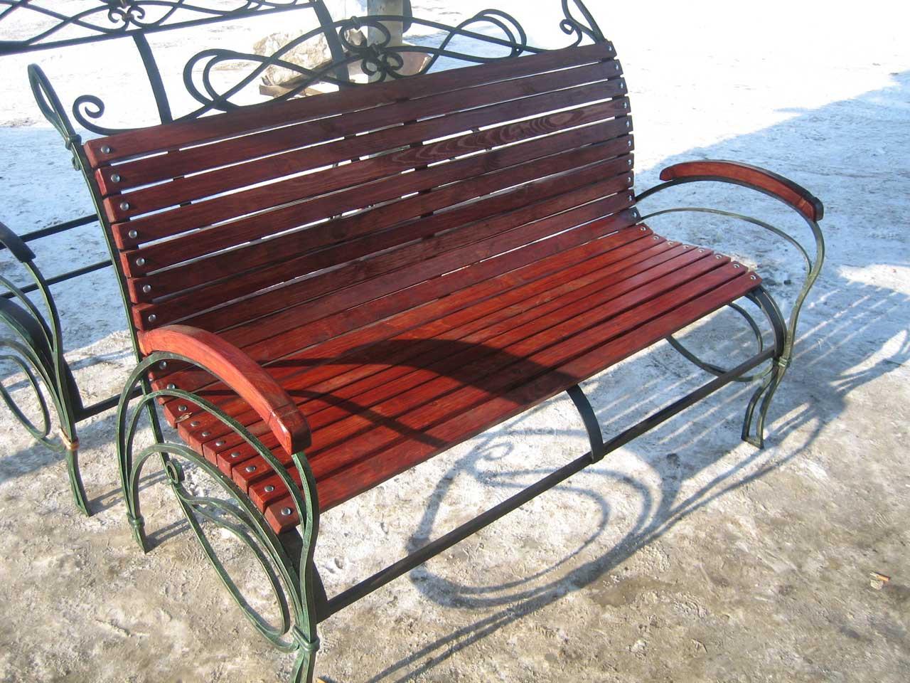 Парковая скамейка модель 388