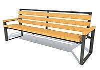 Парковая скамейка модель 396