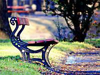 Парковая скамейка модель 398