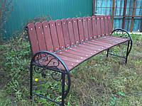 Парковая скамейка модель 375