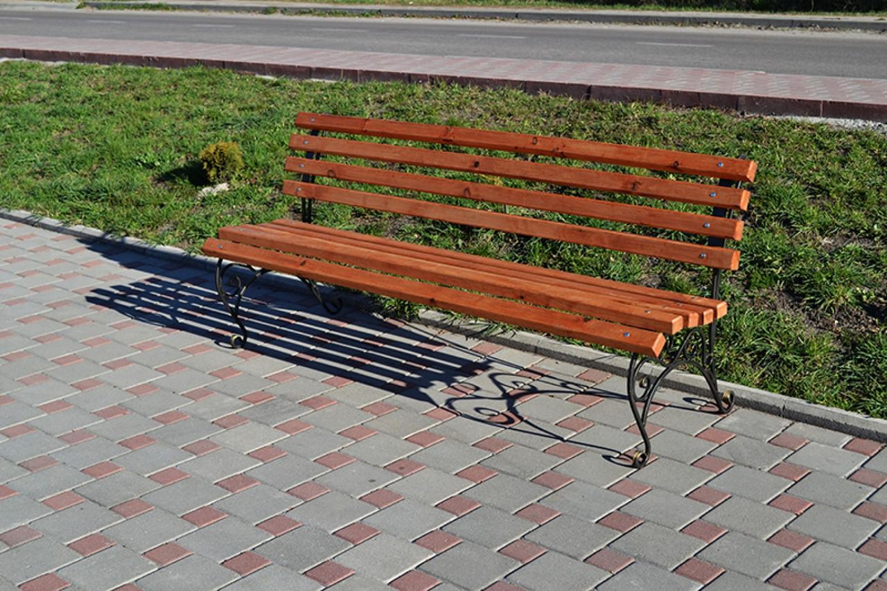 Парковая скамейка модель 406