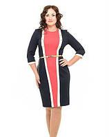 Женское платье модное Шик  размеры 44, 46