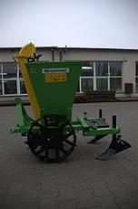Картофелесажалка однорядная Bomet Польша   , фото 3