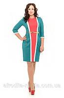Женское платье модное Шик  размеры 44, 46, 48, 50