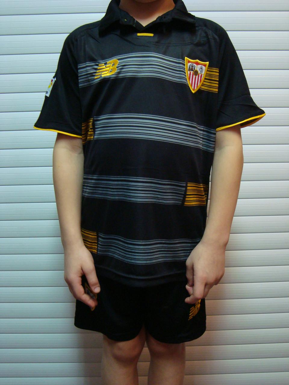 ... Футбольная форма детская Севильи (выездная) Коноплянка, фото 3. В  наличии a64a188bace