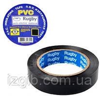Изолента ПВХ Rugby 19мм*50м черная