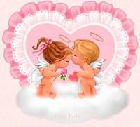 Любовь это... 6 Вафельная картинка