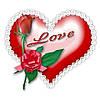 Любовь это... 10 Вафельная картинка