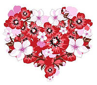 Любовь это... 11 Вафельная картинка