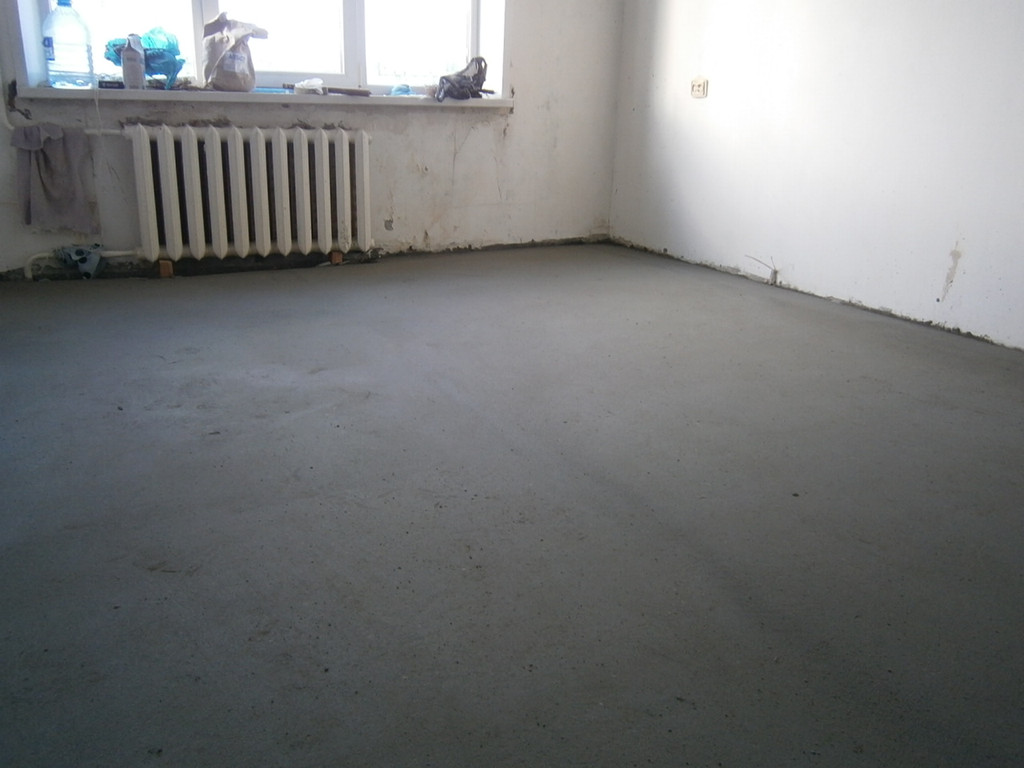 Готова последняя, третья комната.
