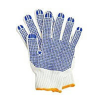 Перчатка белая плотная УКРАИНА 7PL