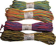 Веревка хозяйственная цветная d4 (5шт)