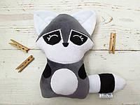 Мягкая игрушка Strekoza Енот 18см серый, фото 1