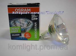 Лампа галогенная OSRAM  48870 ECO SP 50W GU5.3 12V 10грд MR16.закрытая(Германия)