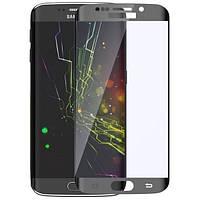 Защитное стекло для Samsung Galaxy S6 Edge G925 black 0.3mm