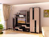 Гостиная Нота 9 (со шкафом),ф-ка SV Мебель
