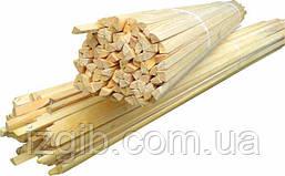 Штапик деревяный 1,3м, 100шт