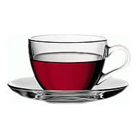 Бейсик набор чашка чайная 200 мл с блюдцем 6шт. (12 предметов)