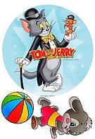 Том и Джерри Вафельная картинка