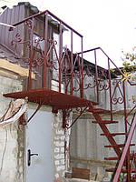 Изготовление лестниц из металла в Харькове